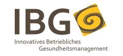 Logo IBG Innovatives Betriebliches Gesundheitsmanagement GmbH