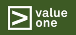 Logo value one holding AG