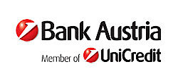 Logo Bank Austria - Member of Unicredit