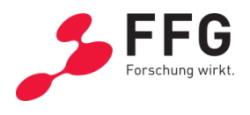 Logo FFG - Die Österreichische Forschungsförderungsgesellschaft